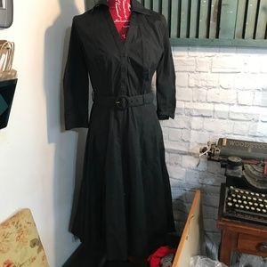 Ann Taylor Loft Long Sleeve Belted Dress Size 4